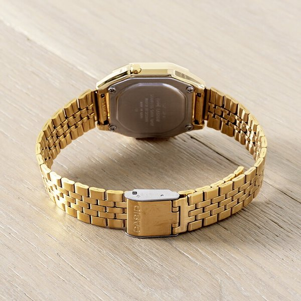 【10年保証】CASIO STANDARD DIGITAL LADYS カシオ スタンダード デジタル レディース LA680WGA-9C 腕時計 キッズ 子供 女の子 チープカシオ チプカシ プチプラ