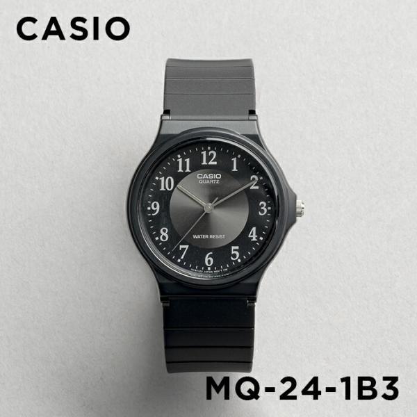 【並行輸入品】【10年保証】CASIO カシオ スタンダード メンズ MQ-24-1B3 腕時計 レディース キッズ 子供 男の子 女の子 チープカシオ チプカシ アナログ ブラッ|timelovers