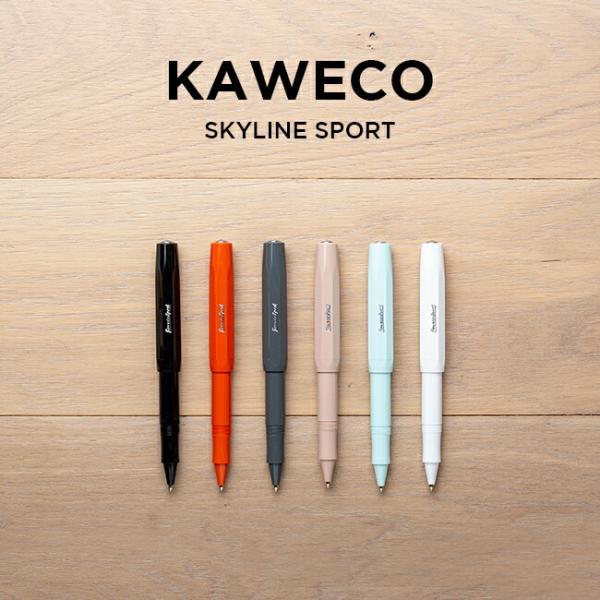 <title>KAWECO カヴェコ スカイラインスポーツ ローラーボール 販売 筆記用具 文房具 ボールペン 水性ボールペン ブラック 黒 ホワイト 白 グリーン 緑 グレー ベージュ オレ</title>