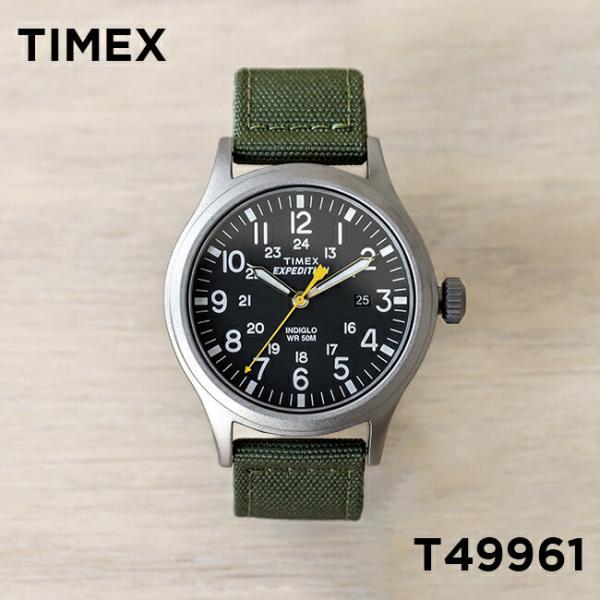 9dcb8c5e42 【並行輸入品】TIMEX タイメックス エクスペディション スカウト 40MM T49961 腕時計 メンズ レディース ミリタリー ...