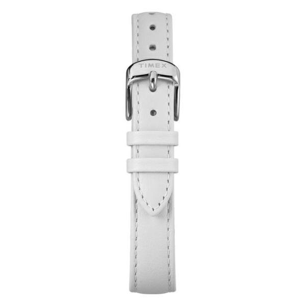 TIMEX CRYSTAL BLOOM 36MM タイメックス クリスタル ブルーム 36MM TW2R66800 腕時計 レディース アナログ ホワイト 白 シルバー 花柄 スワロフスキー レザー 革