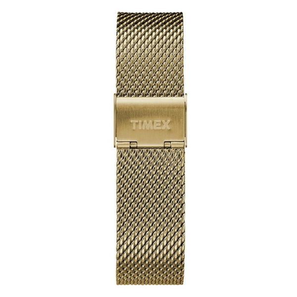 並行輸入品 TIMEX タイメックス フェアフィールド 41MM メンズ TW2T37300 腕時計 レディース アナログ ゴールド 金 ブラック 黒 メッシュ 海外モデル|timelovers|03