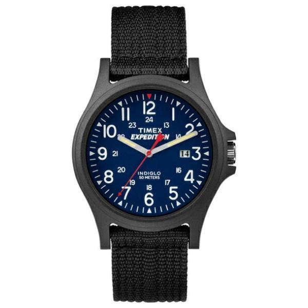 【並行輸入品】TIMEX タイメックス エクスペディション アカディア メンズ TW4999900 腕時計 レディース アナログ ブラック 黒 ネイビー ナイロンベルト|timelovers
