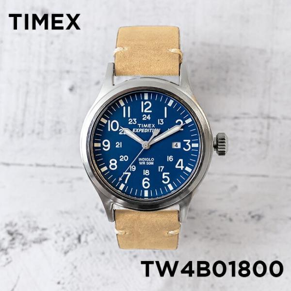 5e9368bdcb 【並行輸入品】TIMEX タイメックス エクスペディション スカウト 40MM TW4B01800 腕時計 メンズ レディース ミリタリー ...