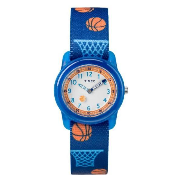 <title>TIMEX タイメックス キッズ アナログ 29MM TW7C16800 腕時計 子供 男の子 女の子 ネイビー ホワイト 白 バスケ AL完売しました。 ナイロンベルト</title>