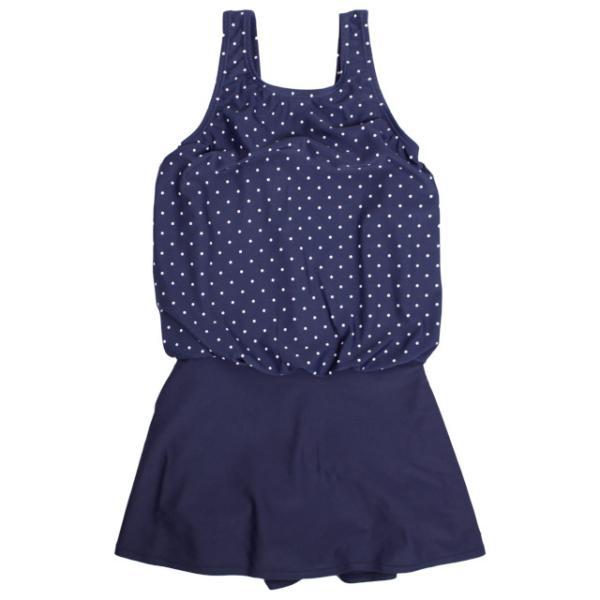 水着 女の子 ワンピース キッズ ジュニア 子供 スカート付き 体型カバー ワンピース水着 130cm セール