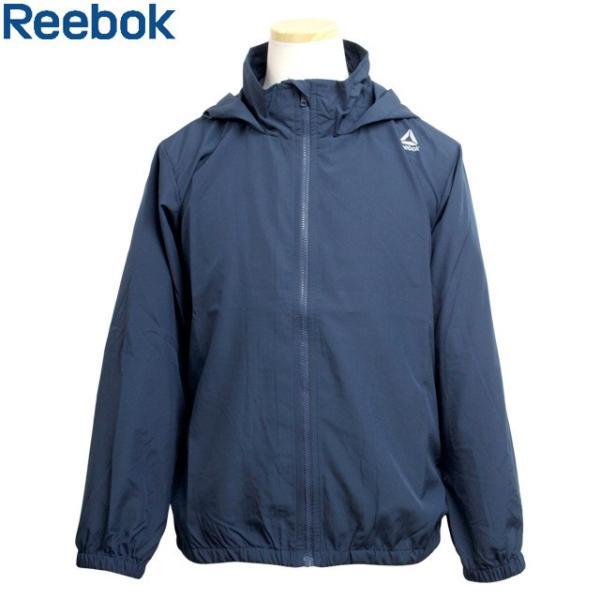 Reebok(リーボック) ウインドブレーカー 子供 キッズ ジュニア 男の子 薄手 フード付き ポケッタブル UVジャケット timely
