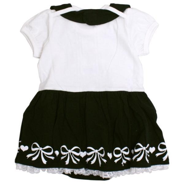 ロンパース 赤ちゃん ベビー 女の子 綿100% ベスト型スタイ付き フォーマル 半袖 カバーオール ギフト 出産祝 贈り物 ミニオール 夏物在庫処分セール|timely|02