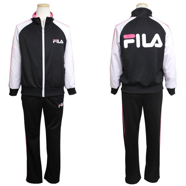 4ac500ef0fb38 ... FILA(フィラ) ジャージ 上下セット 子供 ジュニア キッズ 女の子 トレーニングウェア スポーツウェア ...