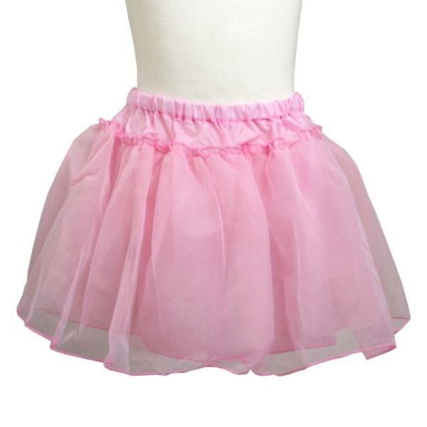 パニエ 子供 キッズ 女の子 ペチコート チュチュ アンダースカート ふわふわパニエ ボリュームアップ カラーパニエ |timely
