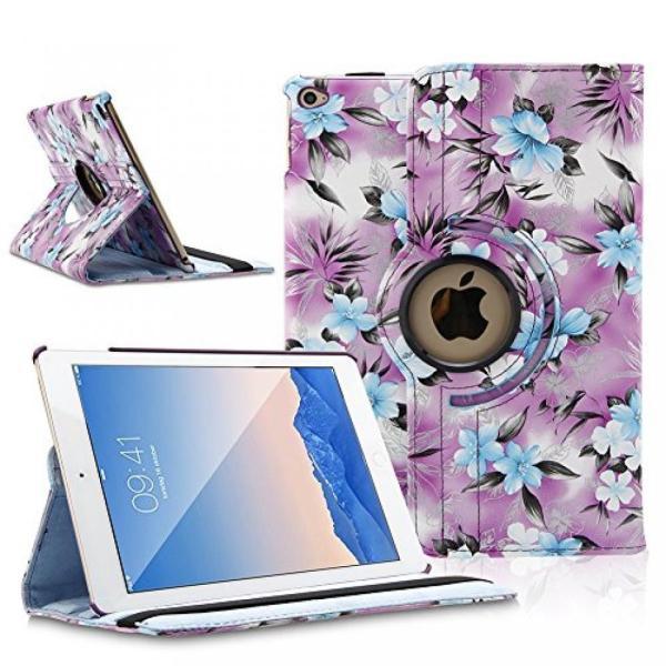 iPadケース TOPCHANCES 360 度回転 PU レザー スマート カバー スタンド ケース ipad とミニ mini2 mini3 w スタイラス ペン サポート自動ウェイク ・ timoak