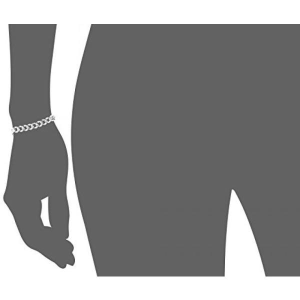 ファッション ブレスレット14 k ホワイトゴールド イタリアの高い洗練されたリンク ブレスレットは、7.5 並行輸入品