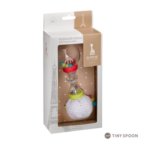ソフィー・マラカスラトル キリンのソフィー ガラガラ 3ヶ月 0歳 ベビー用品 出産祝い 乳児 幼児 おもちゃ|tinyspoon|02