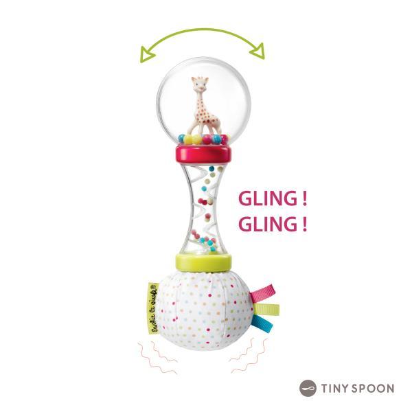 ソフィー・マラカスラトル キリンのソフィー ガラガラ 3ヶ月 0歳 ベビー用品 出産祝い 乳児 幼児 おもちゃ|tinyspoon|05