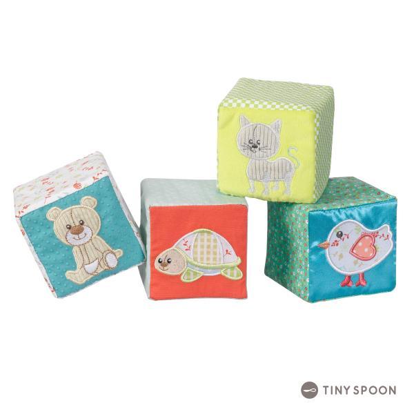 ソフトブロック キリンのソフィー 6ヶ月 0歳 柔らかブロック ベビー用品 出産祝い 乳児 幼児 おもちゃ|tinyspoon|02