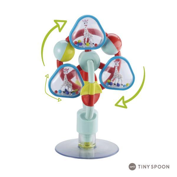 ソフィー観覧車 キリンのソフィー 6ヶ月 0歳 音が鳴る 回る 観覧車 ベビー用品 出産祝い 新生児 乳児 幼児 おもちゃ tinyspoon 02