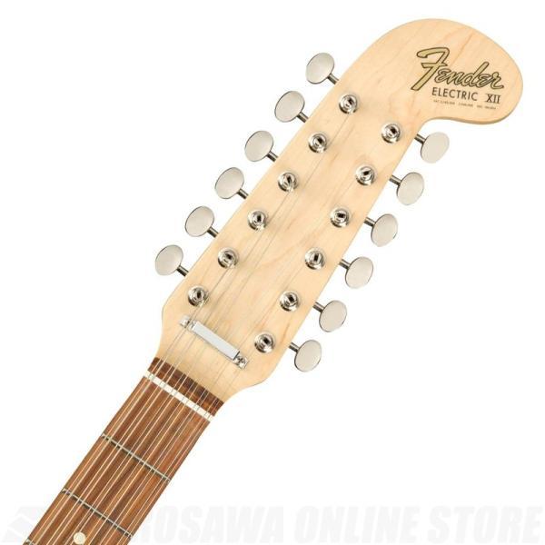 Fender Electric XII, Pau Ferro Fingerboard, 3-Color Sunburst【送料無料】《フェンダーアクセサリーキットプレゼント!》|tiptoptone|04