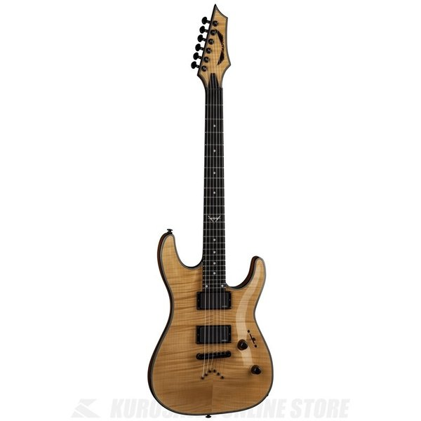DEAN Custom / Custom 450 Flame Top w/EMG - Gloss Nat [C450 FM GN](お取り寄せ) (マンスリープレゼント)|tiptoptone