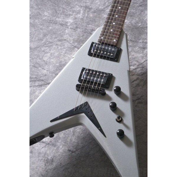 DEAN Dave Mustaine Series / V Dave Mustaine Bolt-On -Metallic Silver [VMNTX MSL](エレキギター)(送料無料)(お取り寄せ)|tiptoptone