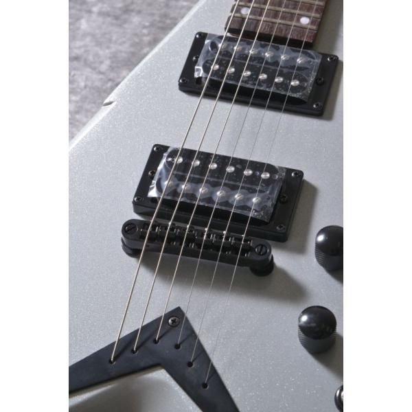 DEAN Dave Mustaine Series / V Dave Mustaine Bolt-On -Metallic Silver [VMNTX MSL](エレキギター)(送料無料)(お取り寄せ)|tiptoptone|04