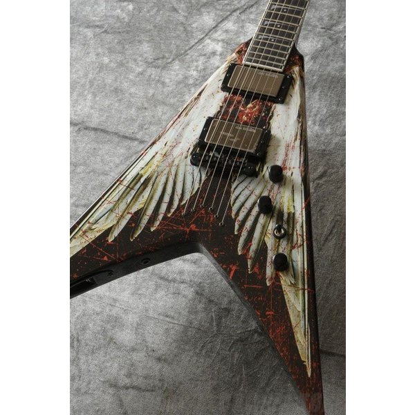 DEAN Dave Mustaine Series / V Dave Mustaine - Angel of Deth w/Case [VMNT AOD](お取り寄せ) (マンスリープレゼント)|tiptoptone