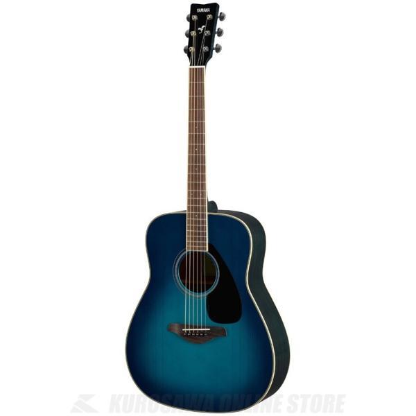 YAMAHA FG820 SB (サンセットブルー) (アコースティックギター)(送料無料)(マンスリープレゼント)(ご予約受付中)|tiptoptone
