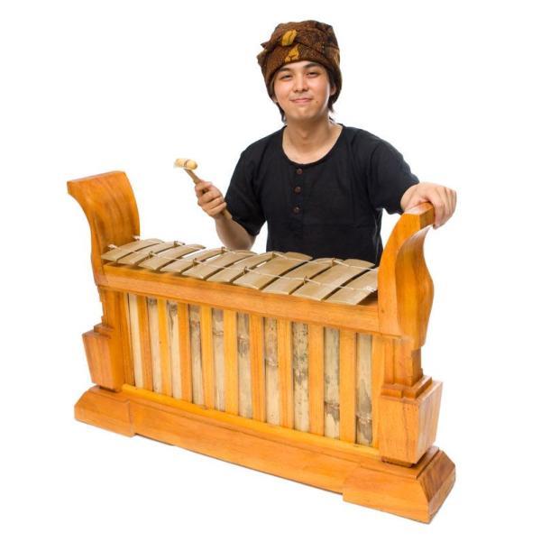 ガムラン LAKU / 民族楽器 インド アジア エスニック レビューでタイカレープレゼント|tirakita-shop|02