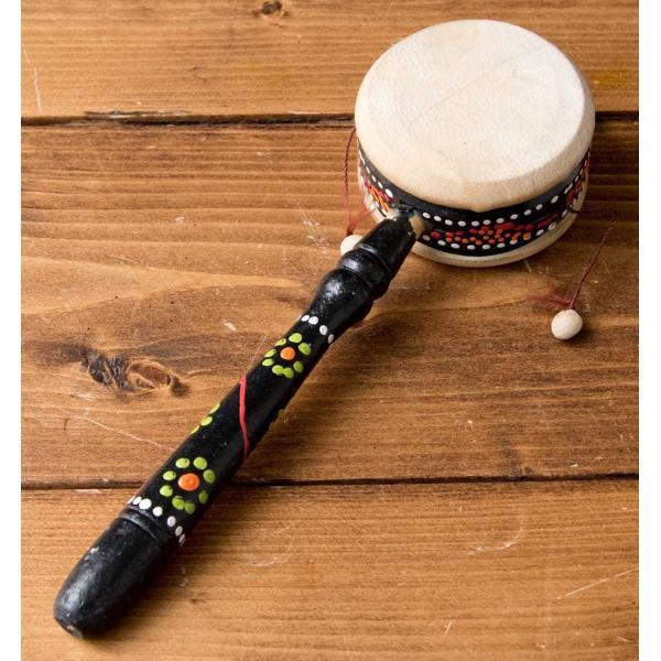 インドネシアのでんでん太鼓 / バリ 打楽器 民 レビューでタイカレープレゼント tirakita-shop 02