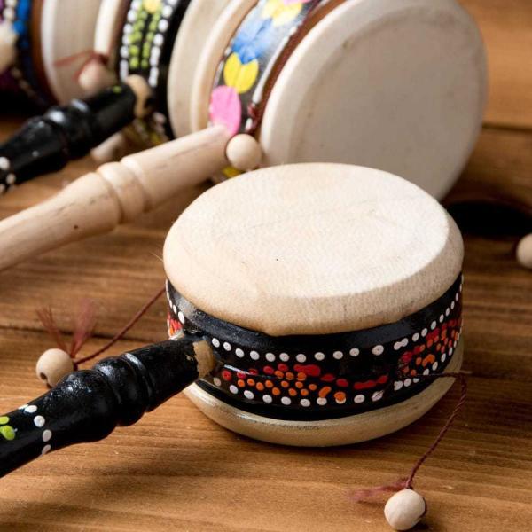 インドネシアのでんでん太鼓 / バリ 打楽器 民 レビューでタイカレープレゼント tirakita-shop 03