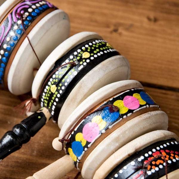 インドネシアのでんでん太鼓 / バリ 打楽器 民 レビューでタイカレープレゼント tirakita-shop 05