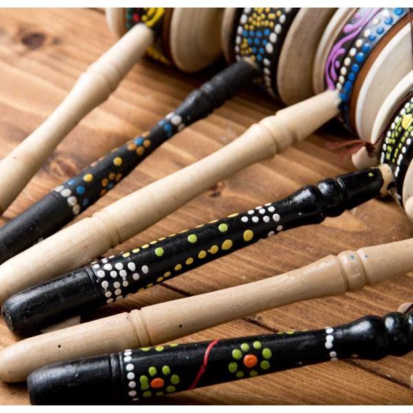 インドネシアのでんでん太鼓 / バリ 打楽器 民 レビューでタイカレープレゼント tirakita-shop 06