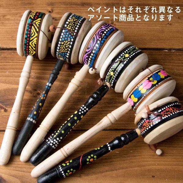 インドネシアのでんでん太鼓 / バリ 打楽器 民 レビューでタイカレープレゼント tirakita-shop 07