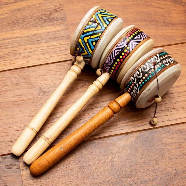 インドネシアのでんでん太鼓 / バリ 打楽器 民 レビューでタイカレープレゼント tirakita-shop 09