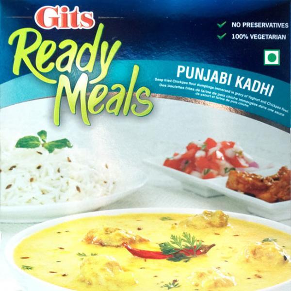 インドカレー Gits インド料理 レトルト パンジャブ カディ Punjabi Kadhi ひよこ豆団子のヨーグルトカレー (Gits)