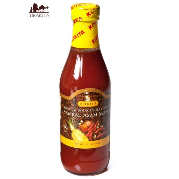 チリソース Kokita インドネシア料理 バリ サンバル アサム マニス Sambal Asam Manis スイート&サワー (Kokita)