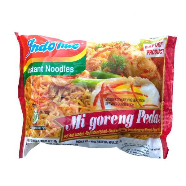 ミーゴレン インドネシア料理 インスタント 焼きそば 激辛 (Indo mie) ハラル HALAL Halal はらる バリ ナシゴレン