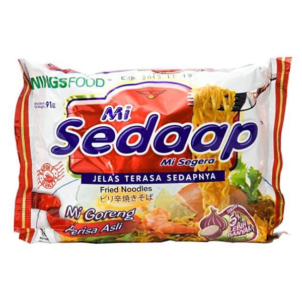 インドネシア インドネシア料理 インスタント麺 焼きそば ミーゴレン ピリ辛 (Mie Sedaap) 肉野菜味 ハラル HALAL