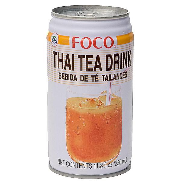 紅茶 タイ ジュース ココナッツ タイの紅茶 350ml (FOCO) ベトナムコーヒー 蓮茶 チャイ ハーブティ アジアン食品