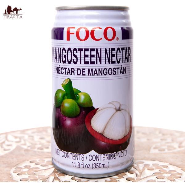 タイ ジュース FOCO マンゴスチン マンゴスチンジュース 350ml缶 変わりもの食品 お菓子 飲み物 アジアン食品