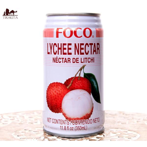 タイ ジュース FOCO ライチ ライチジュース 350ml缶 変わりもの食品 お菓子 飲み物 アジアン食品 エスニック食材
