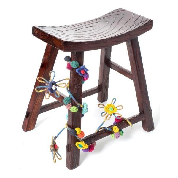 デコレーション 飾り お花のワイヤーデコレーション (青色系) アジア アジアン エスニック インド 雑貨|tirakita-shop|06