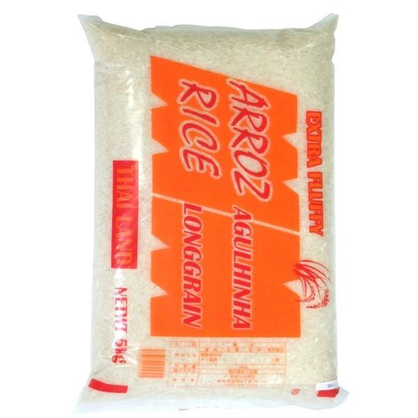 タイ米 送料無料 タイ料理 5Kg Thai Rice (LONGGRAIN) 5kg 粉 豆 ライスペーパー アジアン食品 エスニック食材 NO