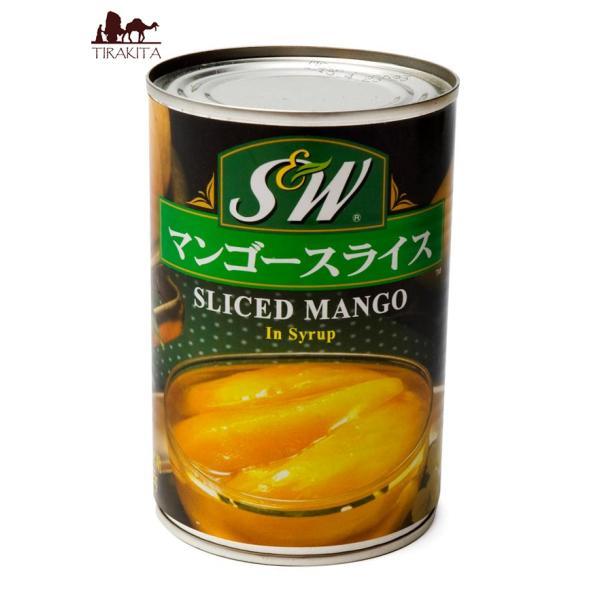 マンゴー マンゴー缶 マンゴースライス 缶詰 (425g) ピクルス ビン詰 アチャール アジアン食品