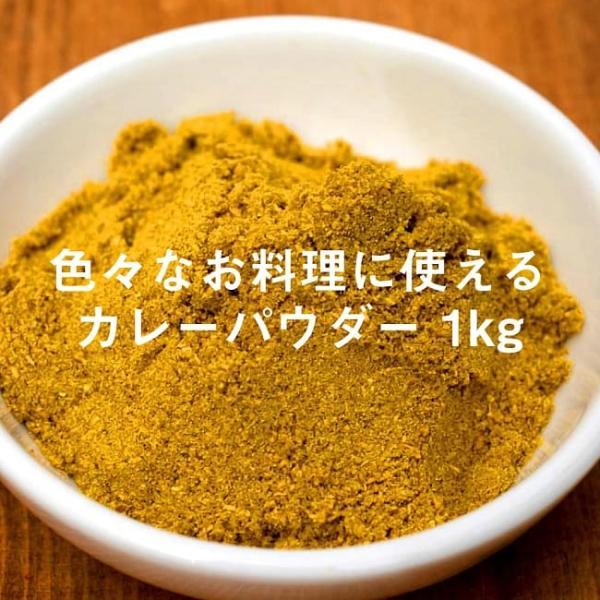 カレーパウダー カレー粉 スパイスミックス マサラ Curry Powder 1kg インド食材 アジアン食品 エスニック食材