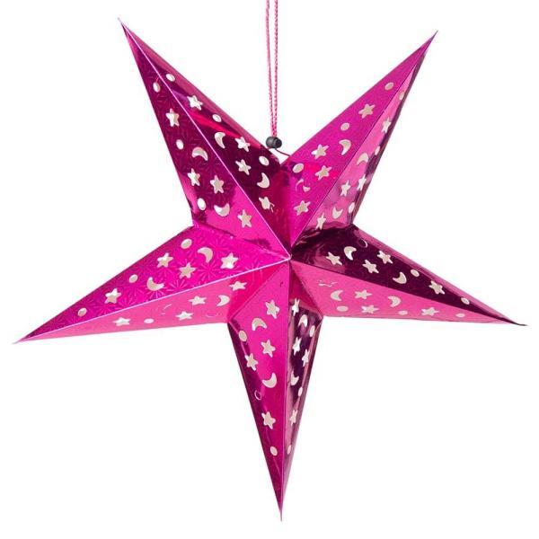 アドベント アドベントスター ペーパーオーナメント スターランプシェード 星型ランプデコレーション 直径:約55cm クリスマスデコレーション|tirakita-shop|02