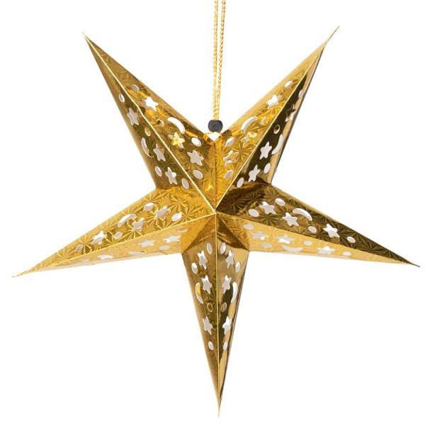 アドベント アドベントスター ペーパーオーナメント スターランプシェード 星型ランプデコレーション 直径:約55cm クリスマスデコレーション|tirakita-shop|03