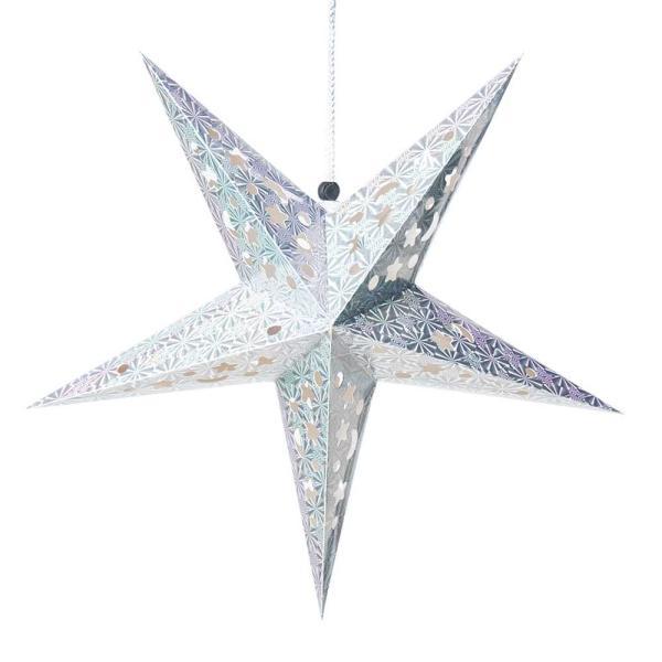 アドベント アドベントスター ペーパーオーナメント スターランプシェード 星型ランプデコレーション 直径:約55cm クリスマスデコレーション|tirakita-shop|06