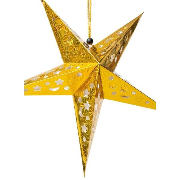 アドベント アドベントスター ペーパーオーナメント スターランプシェード 星型ランプデコレーション 直径:約55cm クリスマスデコレーション|tirakita-shop|08