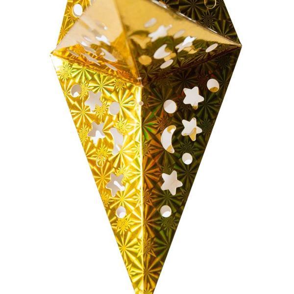 アドベント アドベントスター ペーパーオーナメント スターランプシェード 星型ランプデコレーション 直径:約55cm クリスマスデコレーション|tirakita-shop|09
