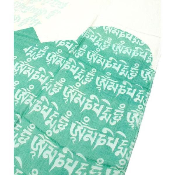 ラムナミ チベット 布 (160cm×70cm)ヒストリーブッダのファンシーストール ショール ドゥパッタ スカーフ レディース エスニック衣料 tirakita-shop 02